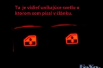 Daewoo Lanos - Podsvietenie ovládania el. okien_09