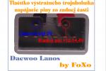 Daewoo Lanos - Podsvietenie tlačítok hmlovky_01