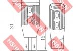 Seat Altea XL - LED predné parkovačky_01