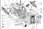 Seat Altea XL - Zapojenie vysielačky Icom IC-E208_01