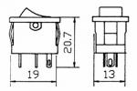 Seat Altea XL - Zapojenie vysielačky Icom IC-E208_014